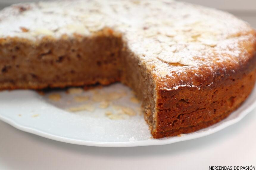 Almond, nuts, ricotta cake