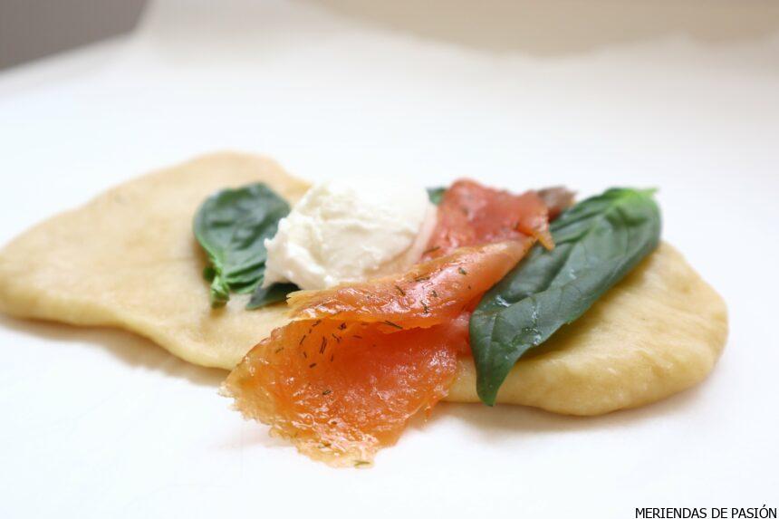 How to prepare salmon brioche