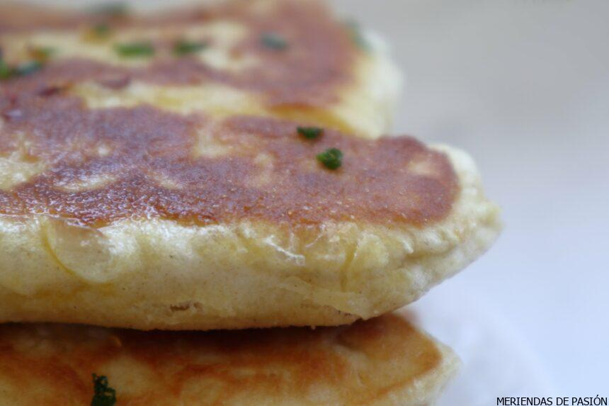 Naan bread with herbs