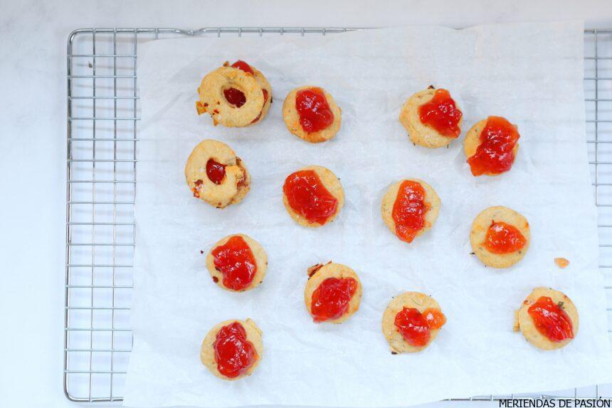 Thyme savory cookies